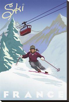 Ski Posters sur AllPosters.fr