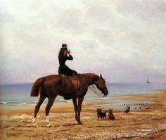 Дамы и лошади
