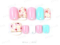 Japanese Nail Design, Japanese Nail Art, Mani Pedi, Pedicure, Nails Decoradas, Es Nails, Pretty Toes, Toe Nail Art, Nail Polishes