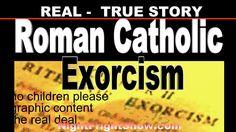Real Roman Catholic Exorcism video Chrstine Corda demon possesion Night ...