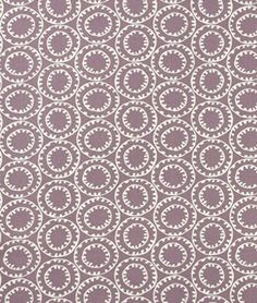 Robert Allen Rolling Chain Wisteria Fabric
