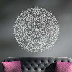 Mandala-wall-stencil-decal-round-ornament