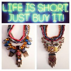 Life is Short... Just buy it ;)  Pink Revolver - Coachella Collection #PinkRevolver
