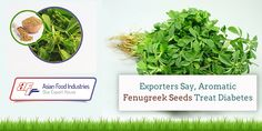Aromatic #Fenugreek #Seeds Treat Diabetes, Say #Exporters