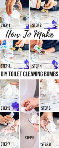 Diy Toilet Cleaning Bombs Deodorize Amp Kill Bacteria
