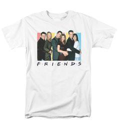 FRIENDS/CAST LOGO | Classic Tv Show T Shirts | Popfunk
