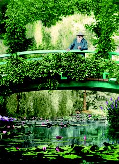 Giverny- with Monet-green Japanese Foot bridge