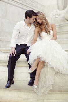 Casual groom photo