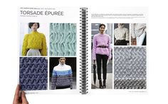 KNIT  CUT AND SEW TREND BOOK FALL WINTER 15-16