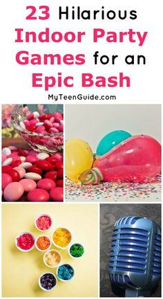 Want to host an epic party game for teens? We�ve got you covered! Check out fun things to do at a party for 13 year olds all the way to the best party games for teenagers 17+! We�ll even tell you which board games for teenagers you need to keep on hand!