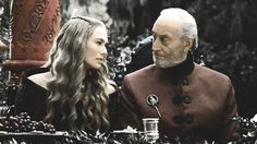 Cersei and Tywin Lannister