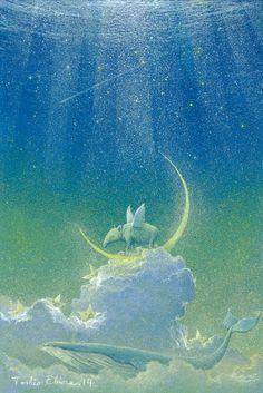 Tapir's dream _2014. by Ebineyland.deviantart.com on @deviantART