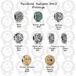 Pandora Autumn 2013 Collection Prices and More Live Shots