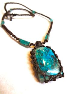 Macrame jewelry. Beautifully made.