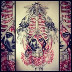 Tattoo Artwork by Kat Abdy