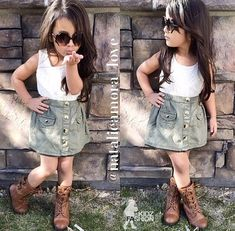 Why do all these little girls have way better hair and clothes than me??!
