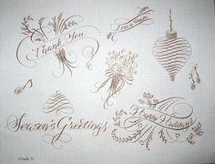 pointed pen flourishing | for us on flourishing flourishing handout 1 by satomi wada
