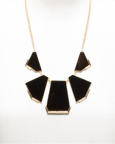 Le Château: Enamel Statement Necklace $15. Great website for cheap jewelry