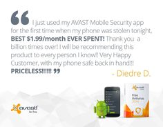 #AVAST offers #anti-theft #protection for your #Android #smartphone