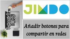 Jimdo 2017 - Añadir botones para compartir en redes (español) https://youtu.be/hR7D4XFZPS8