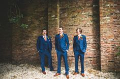 A Handsome Wedding In North Lincolnshire Tan Shoesblue