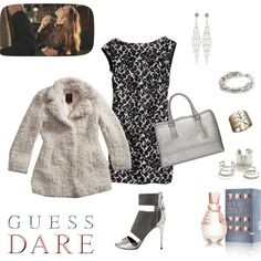"""""""Do You Dare with GUESS Dare: Contest Entry"""" by monaline on Polyvore"""