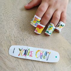 Is it possible that anyone uses Band-Aid bandages more than my family over the summer? I don't think so.