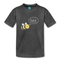 Biene - bzz - lustig - funny - Natur - Liebe - Kinder Premium T-Shirt