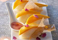 Sushis mangue et roseVoir la recette desSushis mangue et rose >>