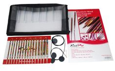 KnitPro  Deluxe  Interchangeable Needle Set  Symfonie wood *** Click on the image for additional details.