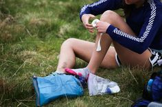 Blister prevention strategies for runners. Image ©iancorless.com - all rights reserved
