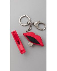 Marc By Marc Jacobs. Red Lips Usb Flash Drive Key Chain