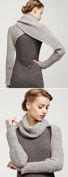 Sleeve Wrap Sweater