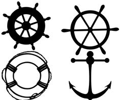 Free 4 SVG Sailor Elements You can Download the SVG files. For Personal Use Only. Password: sherykdesigns.com Download