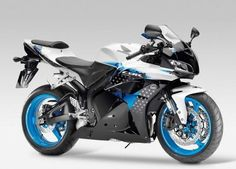 Honda CBR 600 RR <3 Limited Edition II Painting - Black / White / Blue