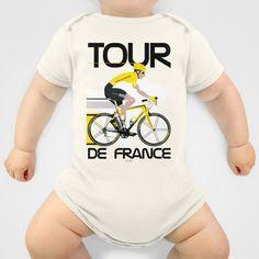 Tour De France Onesie by Wyatt Design - $20.00
