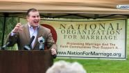 Gay-marriage foes sought to split gays and blacks. -- AP -- 03/27/2012