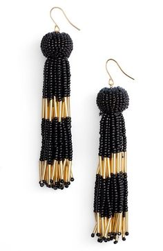 Free shipping and returns on Vanessa Mooney Damzel Tassel Drop Earrings at Nordstrom.com. Designed to softly sway as you move, these glamorous drop earrings are strung with a mix of diminutive beads.