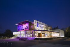 Grammy Museum Mississippi, designed by Gallagher & Associates
