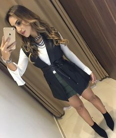 Pll Outfits, Office Outfits, Night Outfits, Trendy Outfits, Cute Outfits, Skirt Fashion, Fashion Outfits, Womens Fashion, Fashion Trends