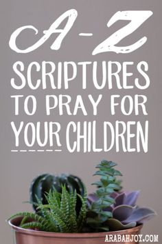 One of the most powerful and rewarding things we can do as parents is pray for our children. One of the benefits of praying scripture over our children is we are praying God's very own words for them. Follow along on the series and print your own free set of prayer cards.
