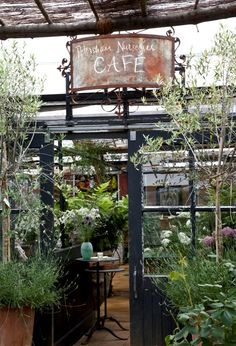 Petersham Nurseries, best place for a potter after a walk along the Thames from Richmond.