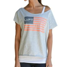 Flag Tank - Grey – Live Fit. Apparel