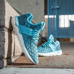 adidas Originals Tubular Runner Primeknit: Blue