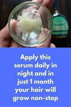 Apply this serum daily in night and in just 1 month your hair will grow non-stop Today I am going to share an all in 1 solution for all hair problems, it will fight against dandruff, itchy scalp, it will also open clogged hair follicles so that new hair can grow. To prepare this hair serum you will need Aloe vera gel Castor oil Vitamin E oil Preparation and Application Take …