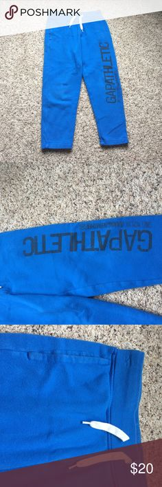 Boys GAP Sweatpants Have been worn maybe once or twice. In perfect condition GAP Bottoms Sweatpants & Joggers