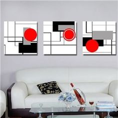 Simple and Elegant Style Unique Geometric Figure Pattern Canvas Art Prints Modern Canvas Art, Modern Art Prints, Canvas Art Prints, Canvas Wall Art, Canvas Paintings, Frame Wall Decor, Modern Wall Decor, Framed Wall, Framed Prints