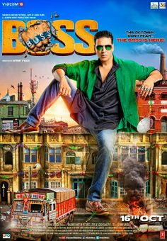 welcome all visitors: Boss (2013 Hindi film)