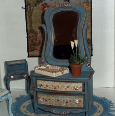 Paris Flea Market Miniature Dresser By MMMminitreasures On Etsy, $65.00
