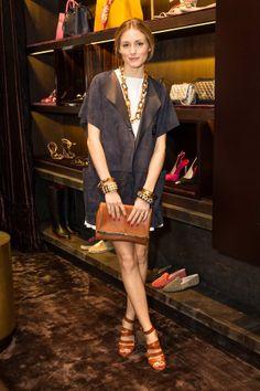 Olivia Palermo at Carolina Herrera boutique opening in San Francisco l May, 2014
